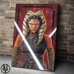 Star Wars Ahsako Tano Canvas Top Best Museo Rag Art Print Poster