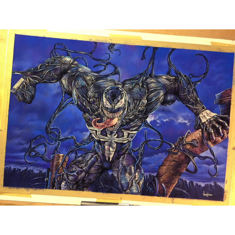 Venom Spider-Man Top Best Museo Rag Art Print Poster