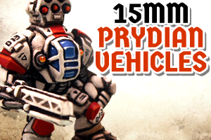 15mm Prydian Vehicles