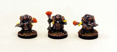 15mm Pro-Painted - Xin Warrior Monks ( IAF117) 3 Miniatures