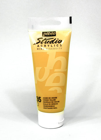 831035 Venice Yellow 100ml Acrylic Paint
