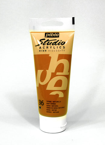 831036 Raw Sienna 100ml Acrylic Paint