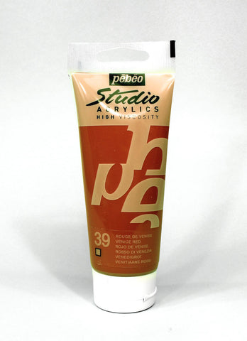 831039 Venice Red 100ml Acrylic Paint