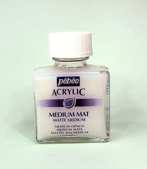 521000 Acrylic Matt Medium 75ml Bottle