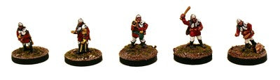 IAF105 Precinct Police-Pro-Painted Set of 5 Personalities