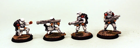 IB18 Muster Support Squad-Painted Set of 4 Space Opera Miniatures