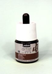 317035 Raw Sienna 45ml Acrylic Liquid Ink