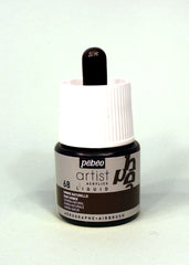 317068 Raw Umber 45ml Acrylic Liquid Ink