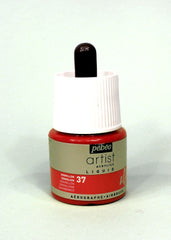 317037 Vermillion 45ml Acrylic Liquid Ink