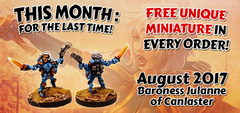 IMP48 Baroness Julanne of Canlaster - Free in August Orders and last monthly miniature!