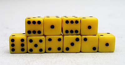 IAB001 7mm Action Dice