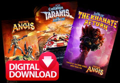 Patrol Angis, Callsign Taranis, Khanate Return (three save 20%)  - Digital Paid Download