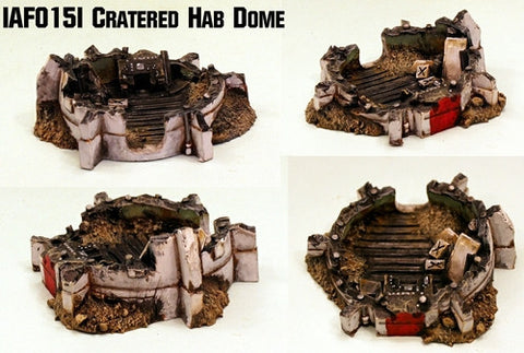 IAF015I Cratered Hab Dome
