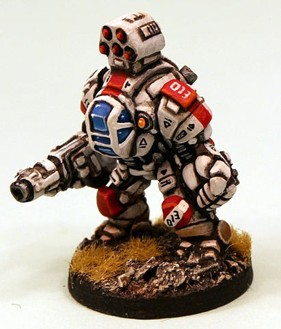 IAF020 Havelock Battlesuit now in resin!