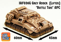 IAF036G Grey Adder APC Battle Taxi Lifter