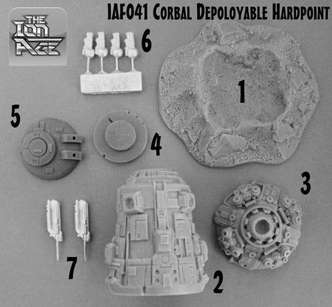 IAF041 Corbal Deployable Hardpoint