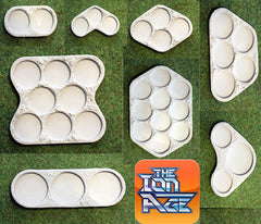 IAF077 Troop Element Bases (8 Sizes)