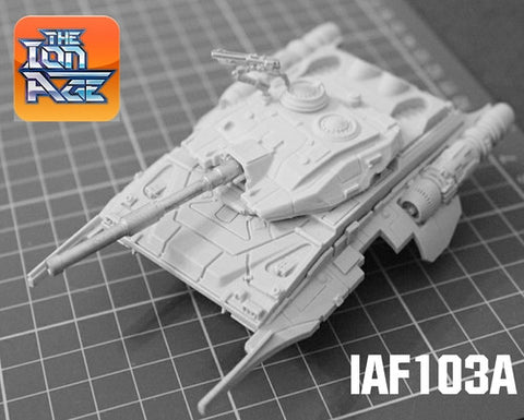 IAF103A Taranis Repulsar MBT Cannon Turret - 15% off during February!
