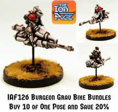 IAF126 Burgeon Grav Bike Bundles - Save 20%
