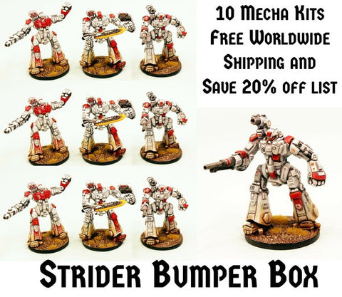 IAF128 Afara Strider Mecha - Mega Bundle (10 Kits) Save 20% Free Shipping!