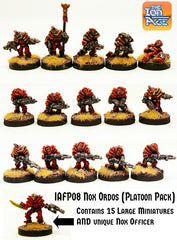 IAFP08 Nox Ordos (Platoon Pack) with Unique Miniature
