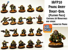 IAFP10 Prang Army Platoon including extra free unique miniature
