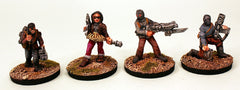 IB45 Betrayer Saboteurs-Pro-Painted Set of 4 Space Opera Miniatures