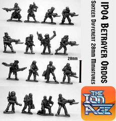 IP04 Betrayers Ordos with two miniatures included free