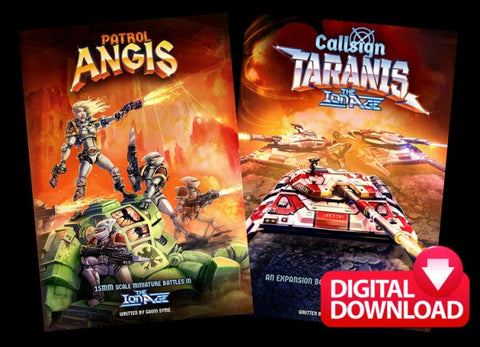 Patrol Angis AND Callsign Taranis (both save 10%)  - Digital Paid Download
