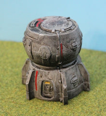 IAF015 Hab Dome and Tower Module (Concrete) - PRO PAINTED