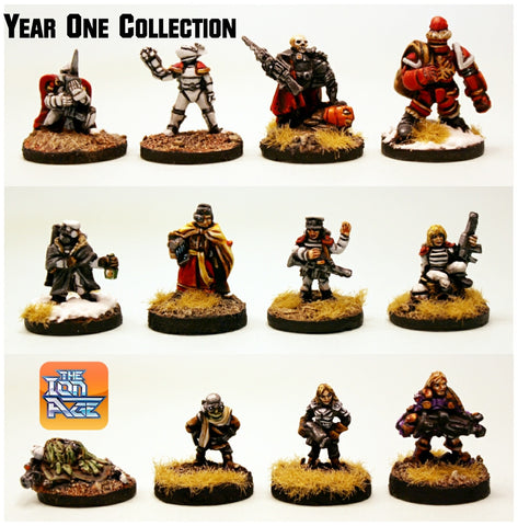 Year One Collection - 12 Unique Miniatures