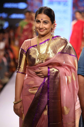 Vidya Balan expertly shows off the Gaurang Shah range