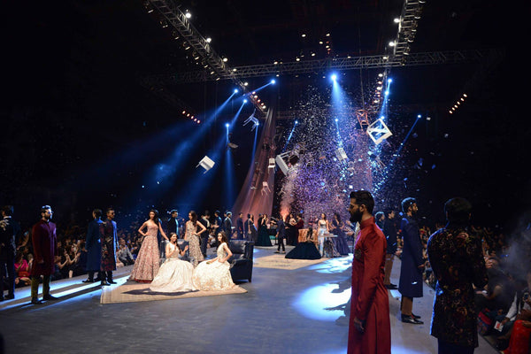 Manish Malhotra stage at Lakme Fashion Week A/W 2015
