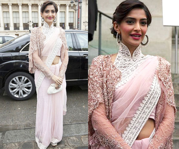 56788d6fa70dec Steal Sonam Kapoor's Saree Draping Style Guide | VIVA-LUXE