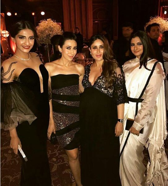 Kapoor Sisters with Kapoor Sisters