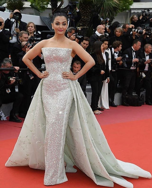 Aishwarya Rai Bachchan in Rami Kaidi and Michael Cinco gowns