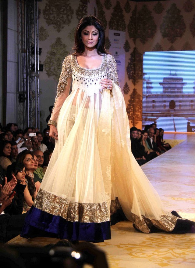 Shilpa Shetty in Manish Malhotra