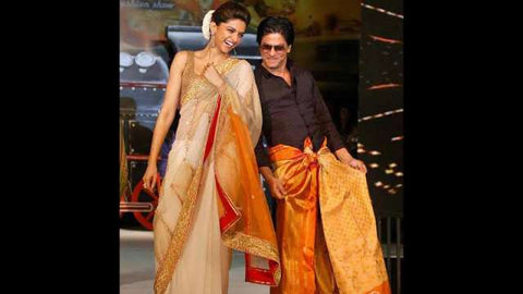 Shah Rukh Khan in Saree