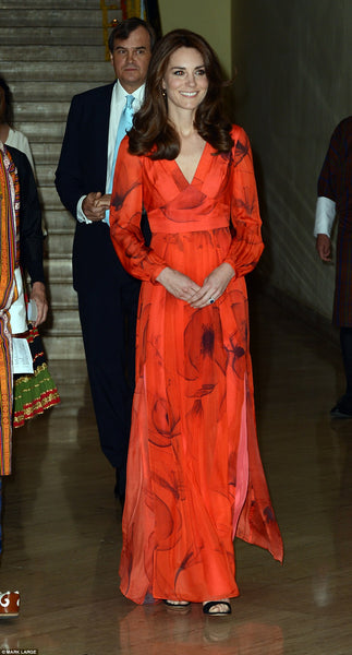 Kate Middleton Royal India Tour