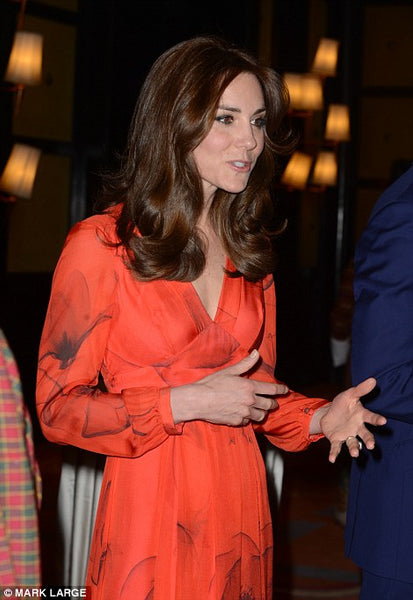Kate middleton red dress
