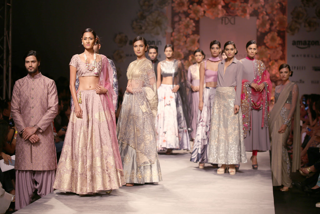 7ec91aba0170 ... Lakme Fashion Week and Amazon India Fashion Week and it was the latter  that got us warmed up as catwalk heavyweights like Manish Malhotra