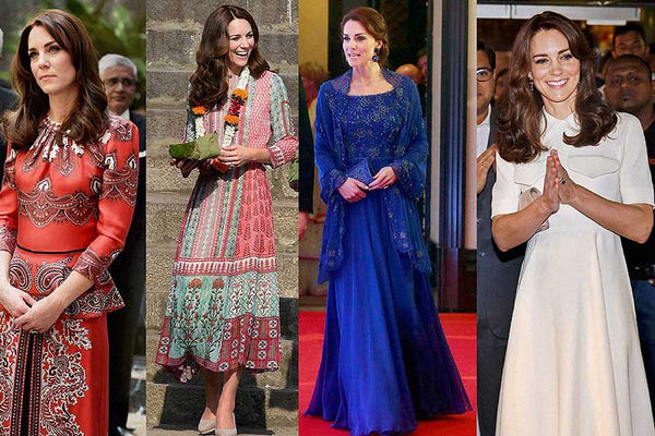 All of Kate's 2016 India Tour Dresses