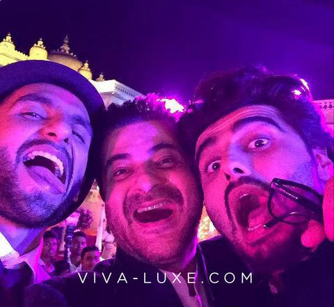 Ranveer Singh, Sanjay Kapoor and nephew Arjun Kapoor clowning around!