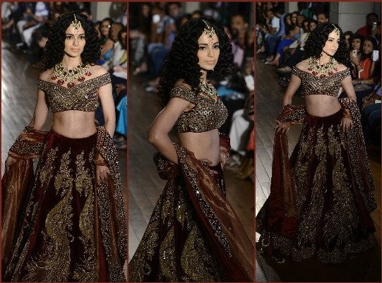 Kangana Ranaut at India Couture Week 2016