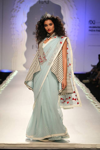 Anju Modi's Fairytale Inspired Saree at AIFW