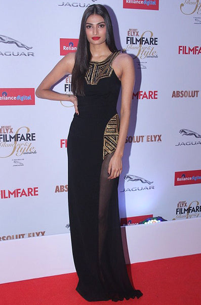 Athiya Shetty at the Filmfare Glamour and Style Awards 2015