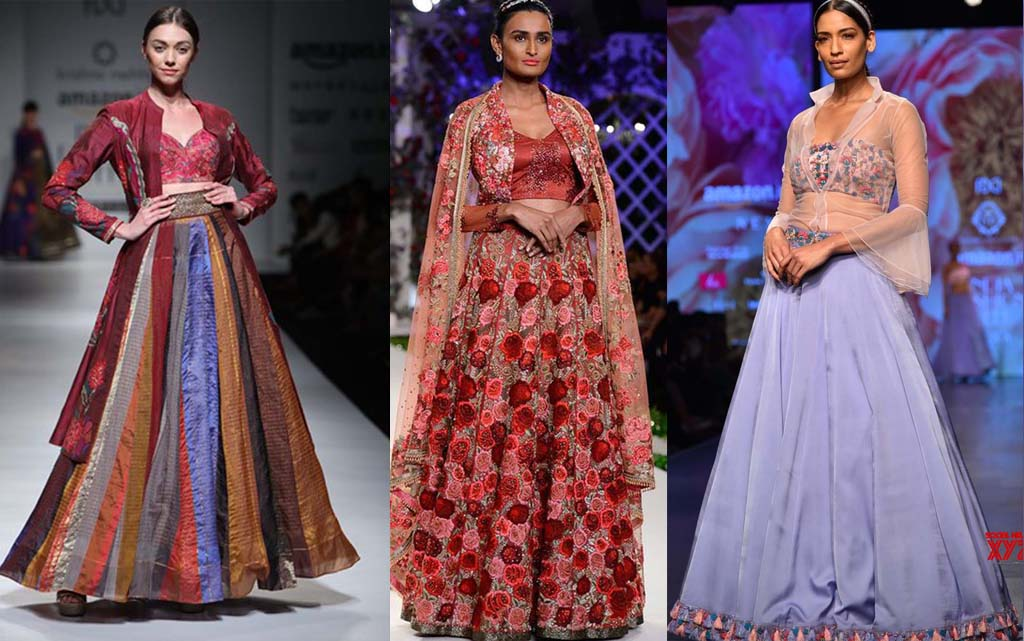 Fierce Lehenga Looks You'll Be Dying To Wear From AIFW 2018