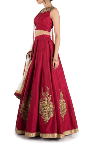 Affordable bridal lehenga