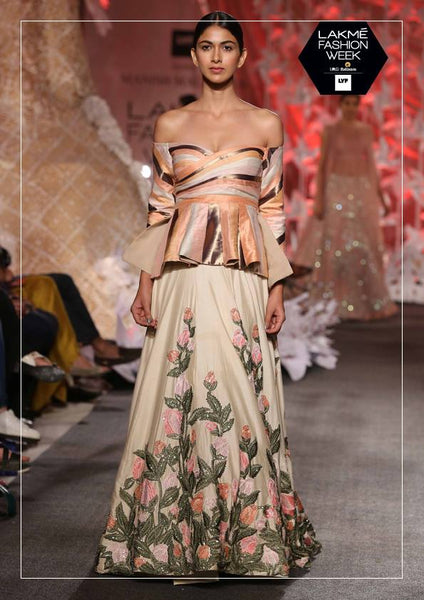 Manish Malhotra Cold Shoulder