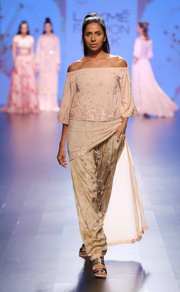 Neeta Lulla Cold Shoulder